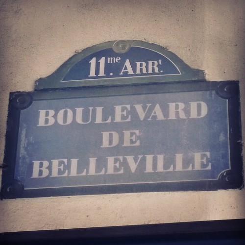 Belleville Paris